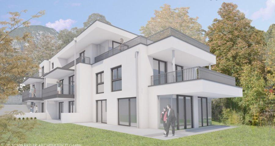 Penthousewohnung in kleiner Wohnanlage